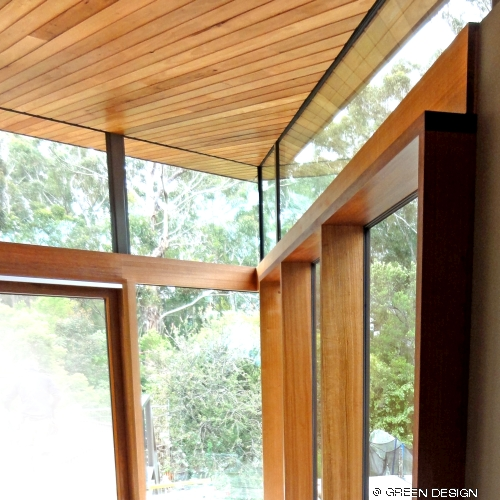 image of silvertop ash ceiling lining