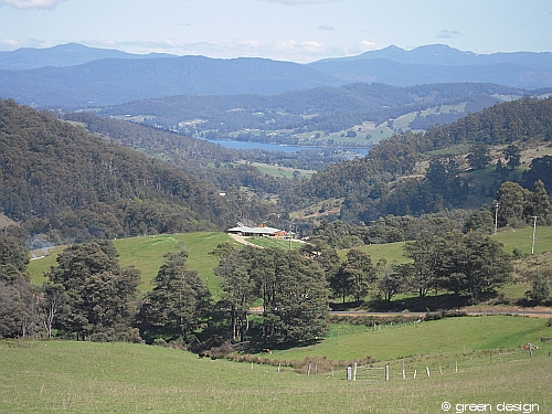image of valley view